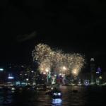 香港・国慶節の記念花火をベストポジションで鑑賞!@ビクトリアハーバー(Victoria Harbour)
