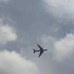 キャセイパシフィック航空・ジャンボジェット(B747-400 B-HU)の最後の勇姿!退役記念低空飛行 @ビクトリアハーバー上空