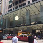 香港の街角 その1 -アップルストア前でiPhoneを売る人たちー @尖沙咀(チムサーチョイ)